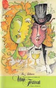 1998 Festival Cover Art by Jesus Fuertes