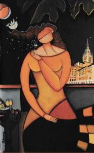 """La Dolce Vita"" by Gilda Sacasas, 2002"