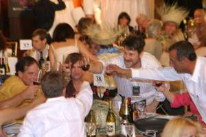 Guests at the 2004 Interactive Dinner