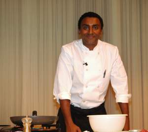 Marcus Samuelsson, our Interactive chef in 2007