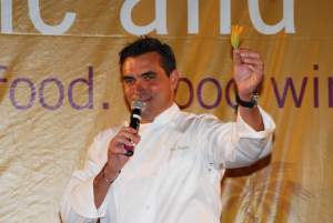 Celebrity chef Todd English headlined the 2010 Interactive Dinner