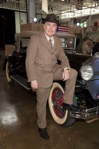 His Royal Corkscrew, aka Richard Fain, at VeritageMiami's Auction & Dinner held at Orion Jet Center.